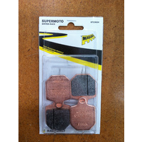 MAGURA SUPERMOTO BRAKE SYSTEM REPLACEMENT BRAKE PADS - SINTERED 0723024