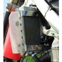 CRF250R 2004 TO 2009 CRF250X 2004 TO 2015 ALLOY RADIATOR GUARDS-ACD MTC000402007