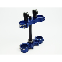 YZ250 2015 2016 2017 2018 TRIPLE CLAMP SET-BLUE- SCAR RACING S1427