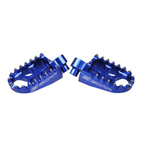 CR125 CR250 CRF150R CRF250R CRF450R CRF250L/M 02-18 02-18 BILLET BLUE FOOT PEGS