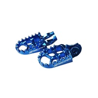 KTM HUSQVARNA 2016 2017 2018 125/150/250/300/350/450/500- BLUE FOOT PEGS S5511B