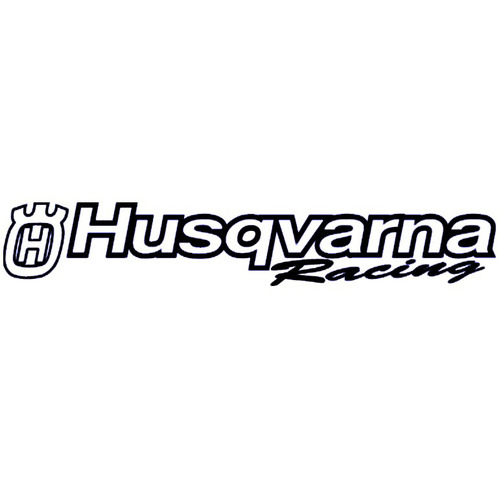 HUSQVARNA WINDSCREEN STICKER - FACTORY RACING - MADE IN AUSTRALIA