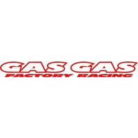 GAS GAS WINDSCREEN STICKER - FACTORY RACING - MADE IN AUSTRALIA