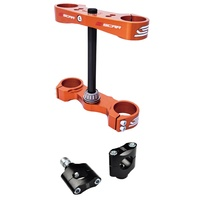 KTM 50 SX 2012 TO 2020 TRIPLE CLAMPS ORANGE SCAR RACING S5413