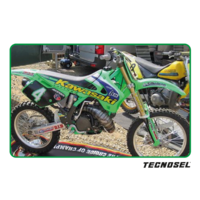 KX125 KX250 1994 1995 1996 1997 1998 TECNOSEL GRAPHICS KIT TEAM REPLICA T84V02