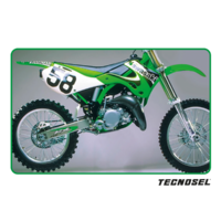 KX125 KX250 1999 2000 2001 2002 TECNOSEL GRAPHICS KIT 2000 REPLICA T84V03